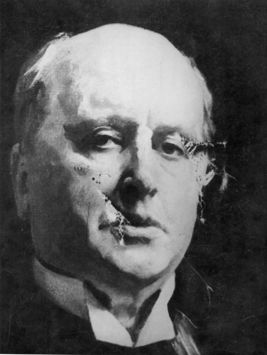 Mary Wood, «Henry James ressentant le fil du Chan Ma Tao », National Portrait Gallery of London. 1914.
