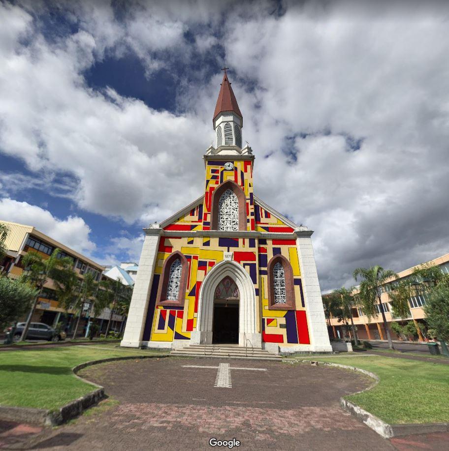 Monumentag - Cathédrale de Papeete. Seitoung, 2017